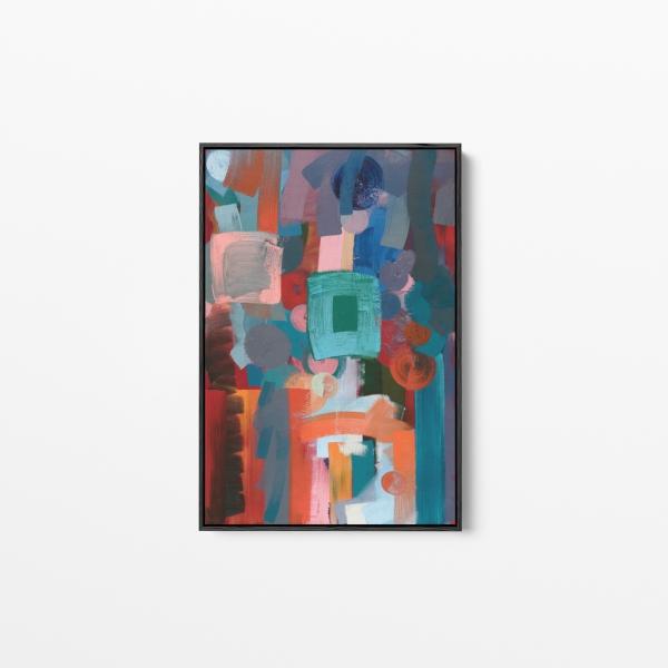 'Kingsland', Oil on canvas