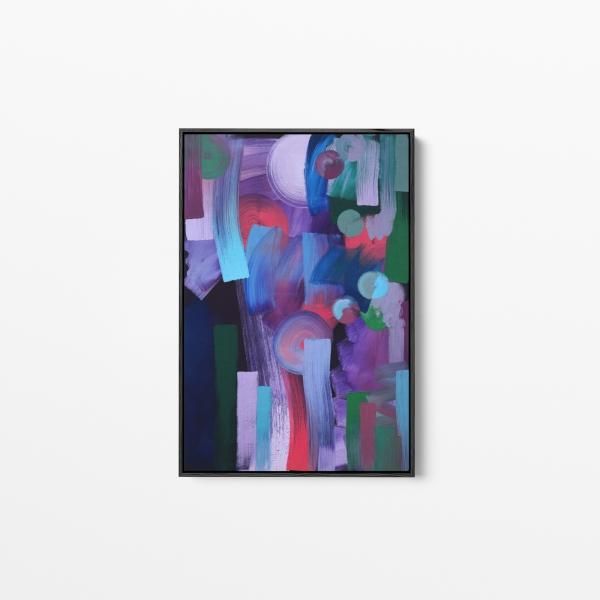 'Moonlight', Oil on canvas
