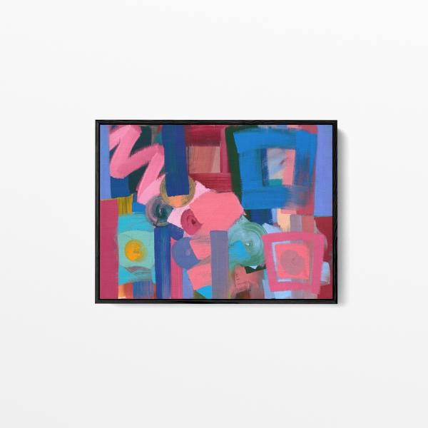 'Promenade', Oil on canvas