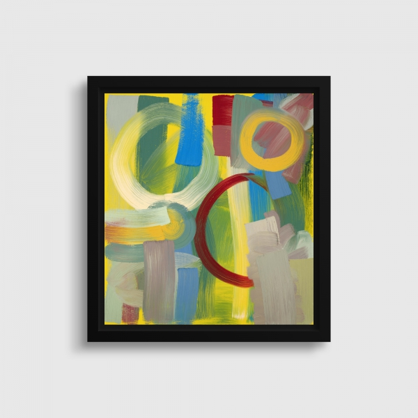 'Wheatsheaf', Oil on canvas